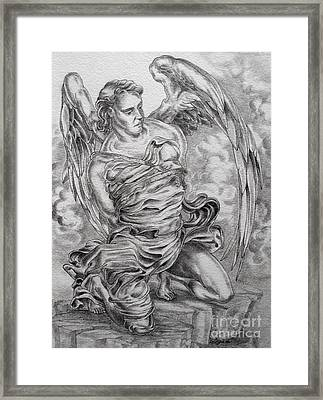 Lucifer Bound Framed Print