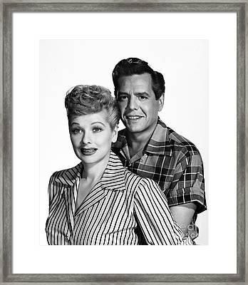 Lucille Ball (1911-1989) Framed Print by Granger