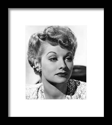 Lucille Ball Framed Prints