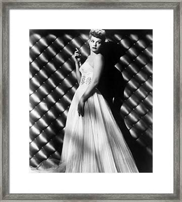 Lucille Ball, Ca. 1950s Framed Print by Everett