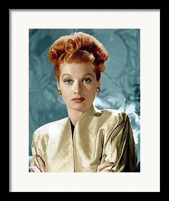Lucille Framed Prints