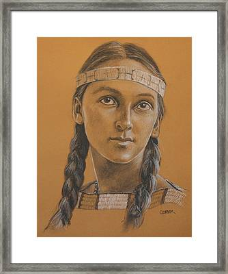 Lucille Dakota Framed Print