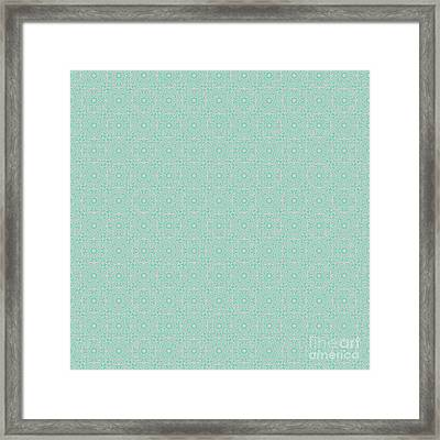 Lucite Green Spring Design Framed Print by Clare Bambers