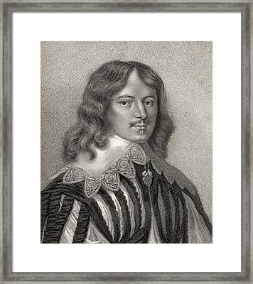 Lucius Cary 2nd Viscount Falkland 1610 Framed Print by Vintage Design Pics