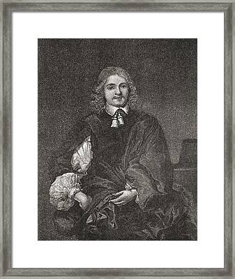 Lucius Cary, 2nd Viscount Falkland, C Framed Print by Vintage Design Pics