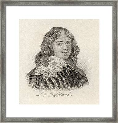Lucius Cary, 2nd Viscount Falkland Framed Print by Vintage Design Pics
