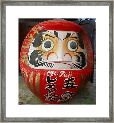 Luck And Good Fortune Framed Print by Riam Sangdoung