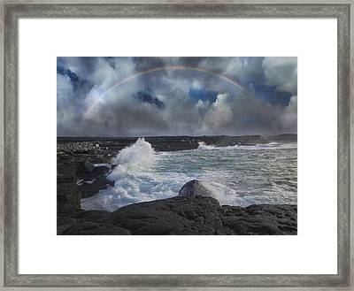 Luck Of The Irish Inis Mor Framed Print by Betsy Knapp
