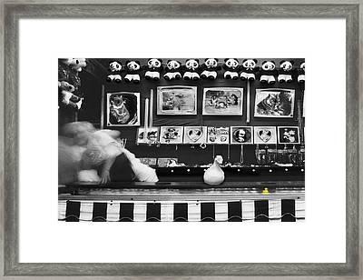 Lucky Duck 2 Framed Print by Mike McGlothlen