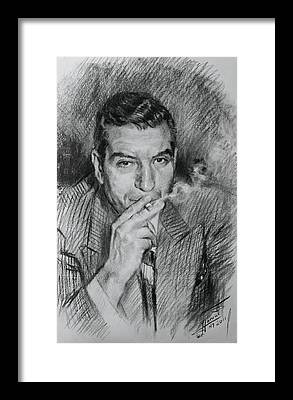 Luciano Framed Prints