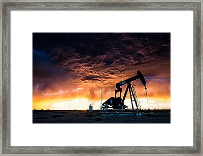 Lucky Shot Framed Print