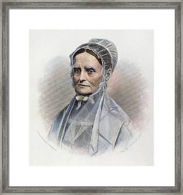 Lucretia Coffin Mott Framed Print