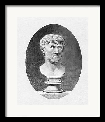Lucretius Framed Prints