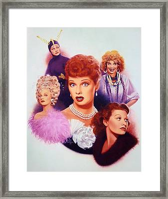 Lucy A Tribute Early Career Framed Print