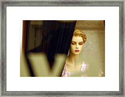 Lucy Alone Framed Print by Jez C Self