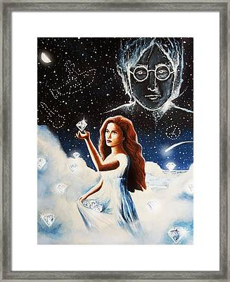 Lucy Framed Print by Amber Stanford