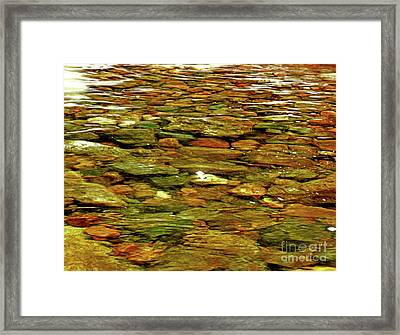 Lucy Brook Bottom Framed Print by Patti Whitten