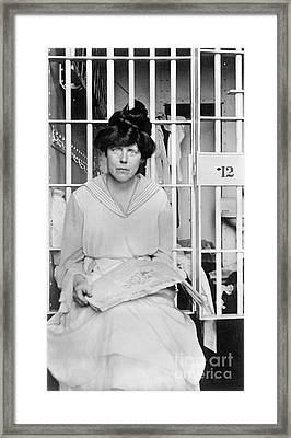 Lucy Burns (1879-1966) Framed Print by Granger