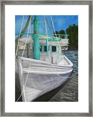 Lucy F Framed Print by JoAnn Wheeler