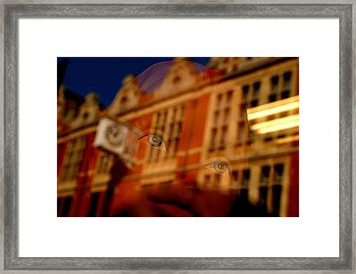 Lucy In The Sky 2 Framed Print by Jez C Self