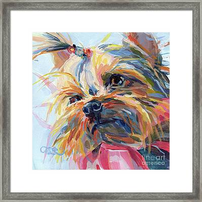 Lucy In The Sky Framed Print by Kimberly Santini