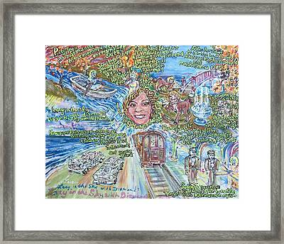 Lucy In The Sky With Diamonds Framed Print by Jonathan Morrill