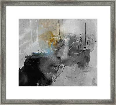 Lucy In The Sky With Diamonds  Framed Print