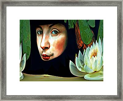 Lucy In The Sky With Diamonds Framed Print by Steve Harrington
