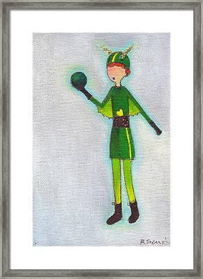 Lucy Framed Print by Ricky Sencion