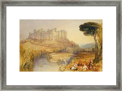 Ludlow Castle  Framed Print by Joseph Mallord William Turner