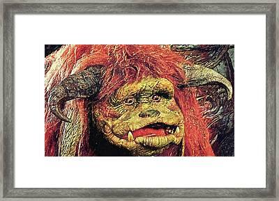 Ludo - Labyrinth Framed Print