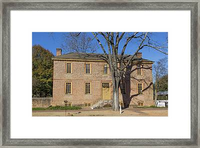 Ludwell Paradise House Framed Print by Teresa Mucha