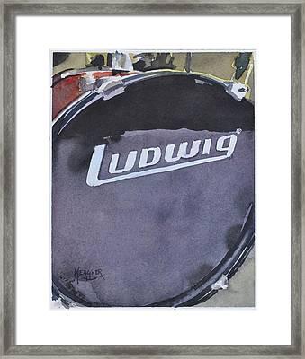 Ludwig Framed Print by Spencer Meagher