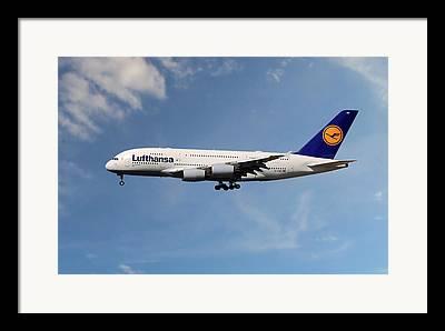 A380 Framed Prints