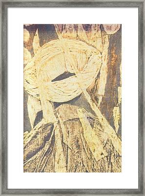Lui 2002 Framed Print by Halima Echaoui