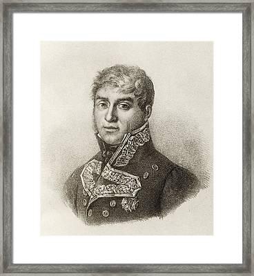 Luis Roberto De Lacy, 1772 Framed Print