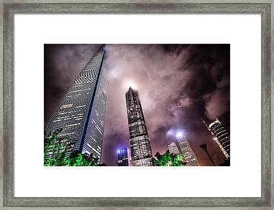 Lujiazui Framed Print by Andy Brandl