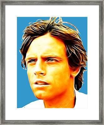Luke Framed Print by Paul Van Scott