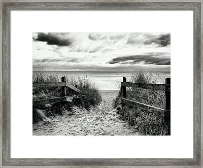 Lull Framed Print by Karen Stahlros
