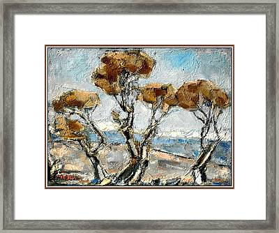 Framed Print featuring the painting Lull by Pemaro