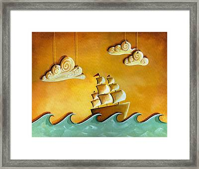 Lullaby Bay Framed Print