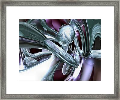 Lullaby Dreams Abstract Framed Print