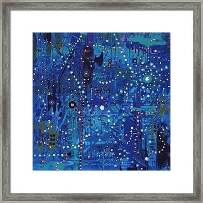 Lullaby In Blue Framed Print