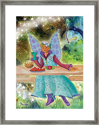 Lulu Beth Twinkle At The Banquet Framed Print