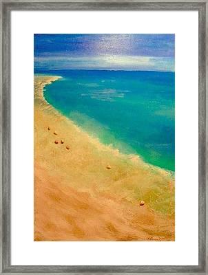 Lumbarda Framed Print