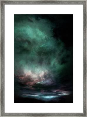 Lumen Sky Framed Print by Lonnie Christopher
