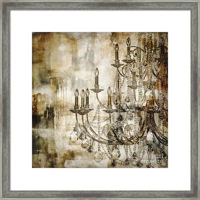 Lumieres II Framed Print by Mindy Sommers