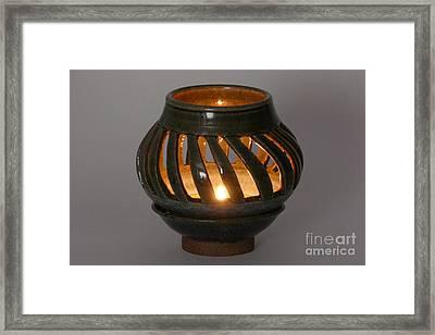 Luminaire Framed Print by Alan M Thwaites