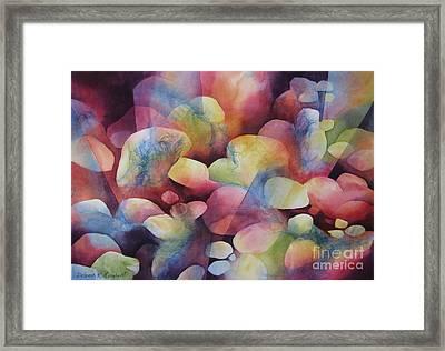 Luminosity Framed Print by Deborah Ronglien