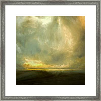 Luminous Air Framed Print